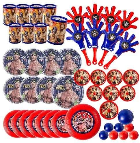 WWE®Party Mega Mix Value Pack, 48ct