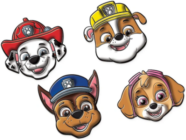 Paw Patrol™ Adventures Character Stickies, 4ct