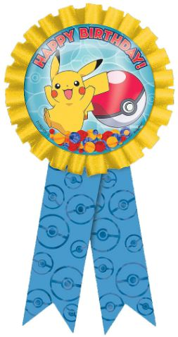 Pokemon™ Confetti Pouch Award Ribbon