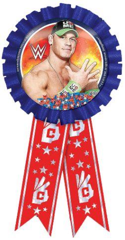 WWE®Party Confetti Pouch Award Ribbon