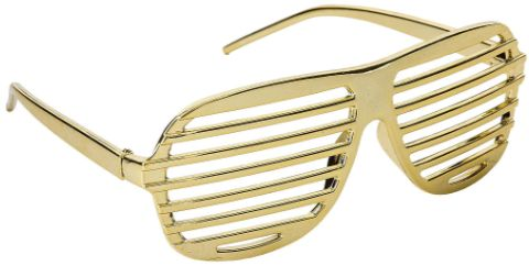 Gold Electric Shutter Funshades®