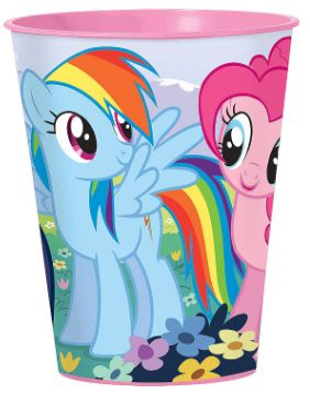 My Little Pony Friendship Plastic Favor Cup, 16oz
