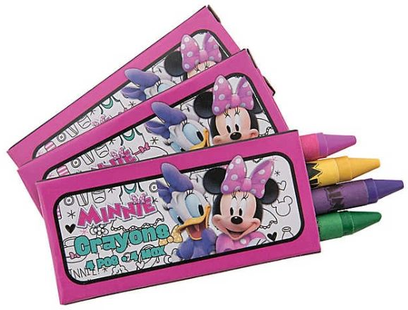 ©Disney Minnie Mouse Happy Helpers Mini Crayon Favors, 12ct