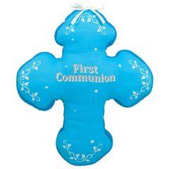 Boy's First Communion Autograph Pillow