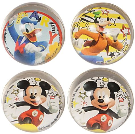 ©Disney Mickey Mouse On the Go Bounce Balls