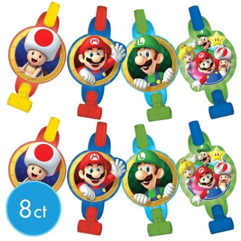 Super Mario Brothers™ Blowouts, 8ct