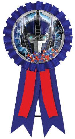 Transformers™ Confetti Pouch Award Ribbon