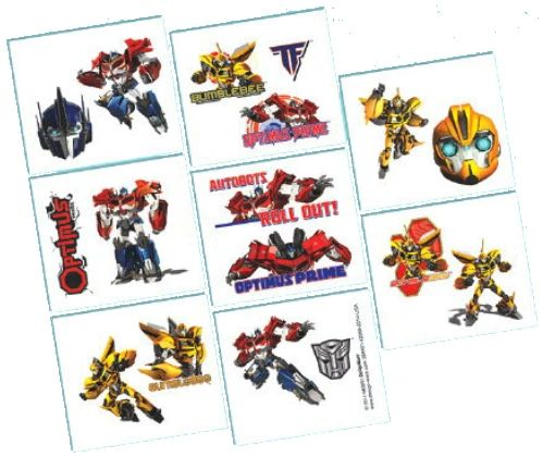 Transformers™ Tattoo Favors, 8ct