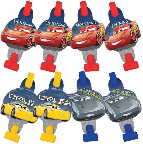 ©DISNEY CARS 3 Blowouts, 8ct