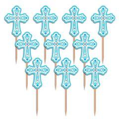 Blue Communion Party Picks, 36ct
