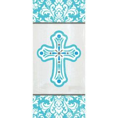 Blue Communion Treat Bags, 20ct