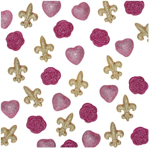 Day In Paris Table Scatters, 32ct
