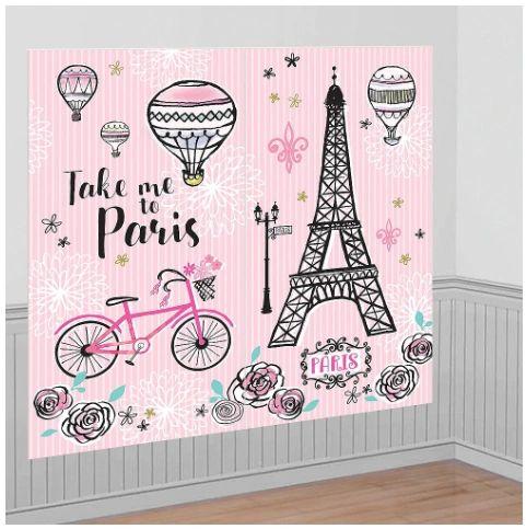 Day In Paris Scene Setter® Photo Backdrop