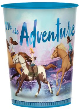 Spirit Riding Free Favor Cup, 16oz
