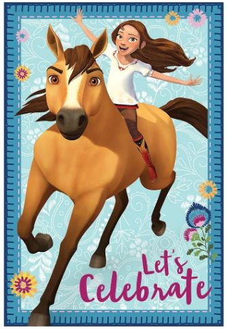 Spirit Riding Free Postcard Invitations, 8ct