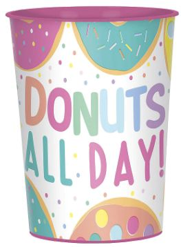 Donut Party Favor Cup, 16oz