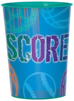 Birthday Baller Favor Cup, 16oz