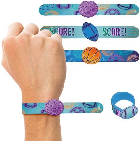 Birthday Baller Slap Bracelets, 4ct