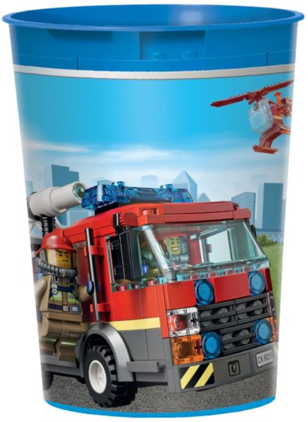 Lego City Favor Cup, 16oz