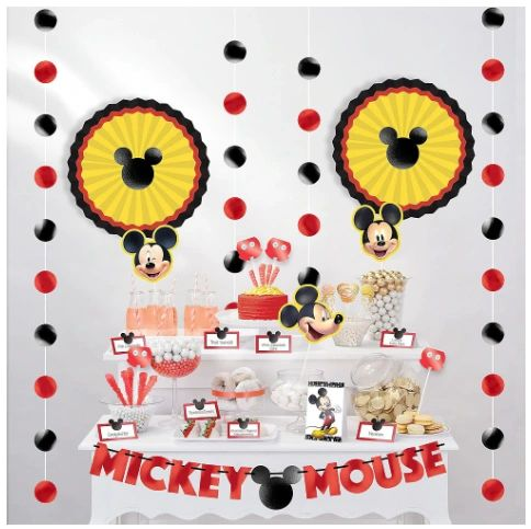 Mickey Mouse Forever Buffet Table Decorating Kit