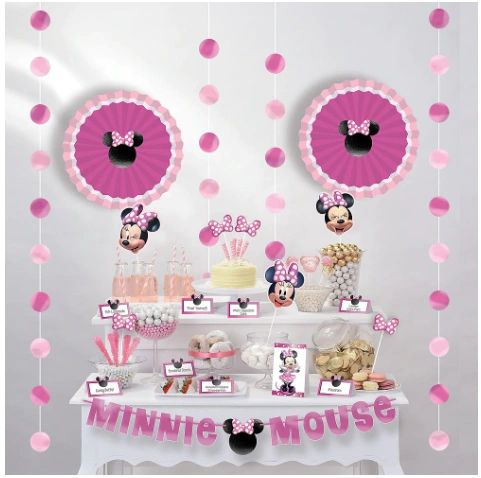 Minnie Mouse Forever Buffet Table Decorating Kit, 23pc