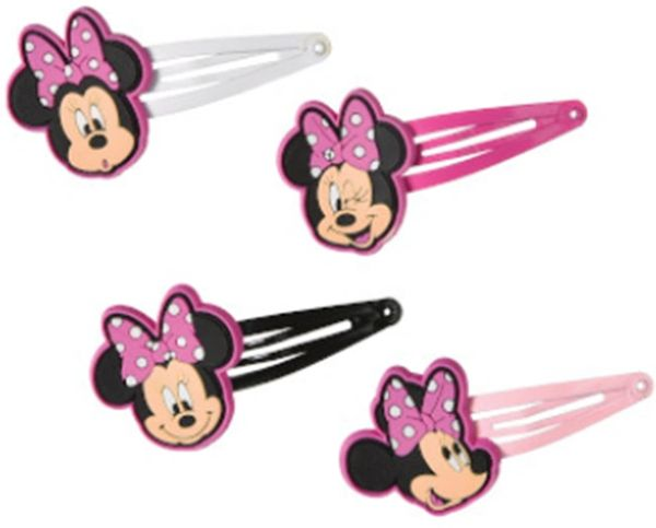 Minnie Mouse Forever Hair Clips, 8ct