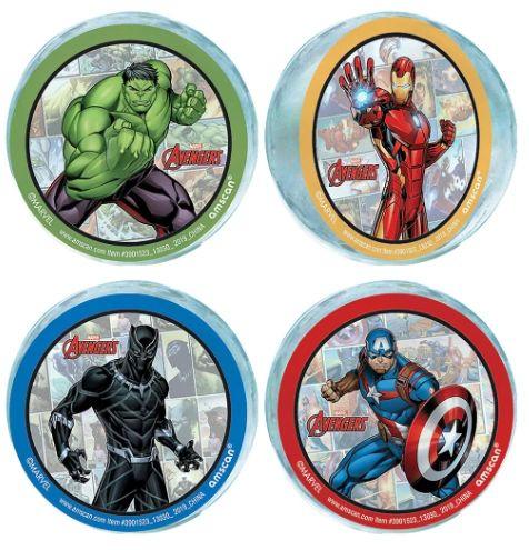Marvel Avengers Powers Unite™ Bounce Balls, 4ct