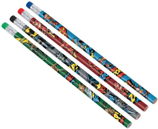 Justice League Heroes Unite™ Pencils, 8ct