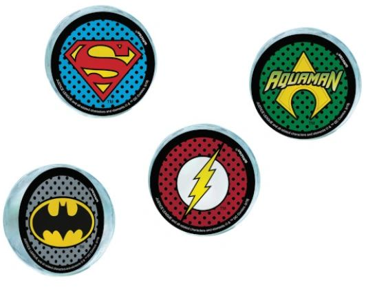 Justice League Heroes Unite™ Bounce Balls, 4ct