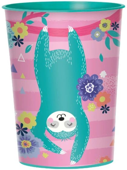 Sloth Favor Cup, 16oz