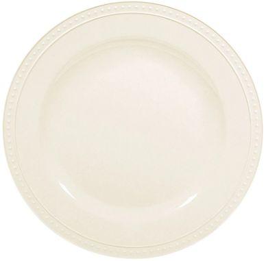 """8 1/4"""" Beaded Melamine Salad Plate"""