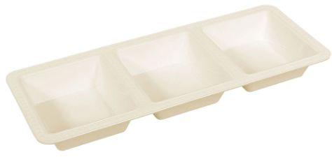 Beaded Melamine Section Tray