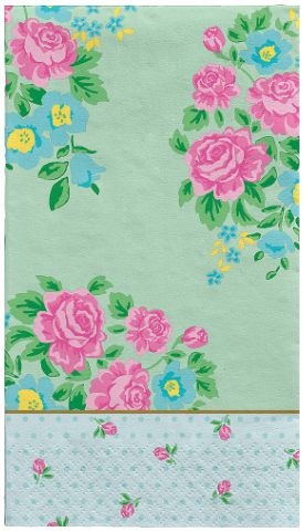Tea Party Guest Towels, 16ct