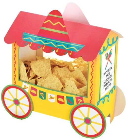 Fiesta Deluxe Taco Truck Chip Stand