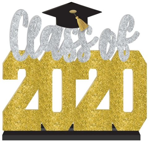 Class Of 2020 Standing Sign