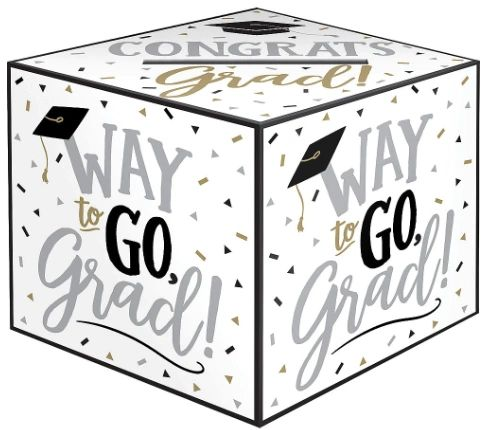 Grad Greeting Card Box Holder