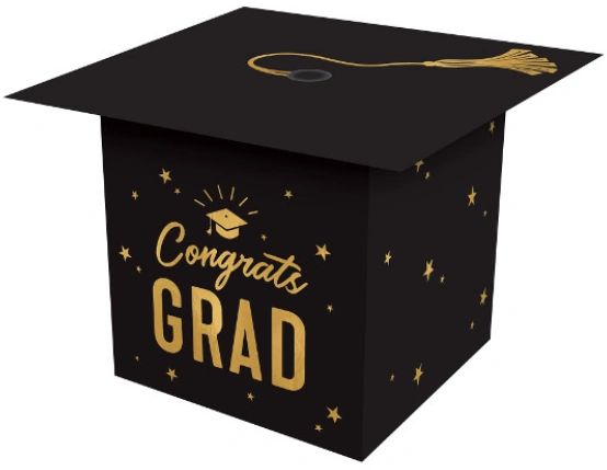 Mini Grad Cap Favor Boxes, 6ct