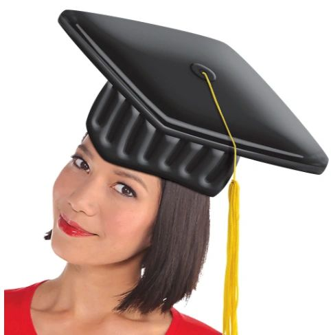 Inflatable Graduation Cap