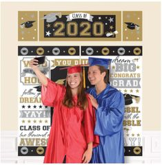 """2020"" Grad Scene Setter® Wall Decorating Kit"