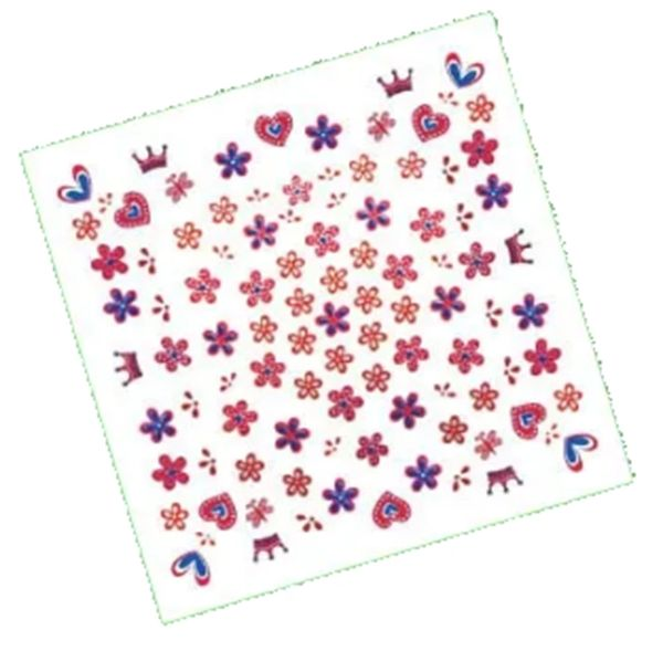 Girl Nail Art Stickers, 100ct
