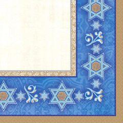 Hanukkah Judaic Traditions Passover Beverage Napkins, 16ct