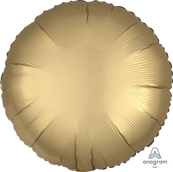 Round 42 HX Luxe Gold Sateen Round