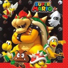 Super Mario Brothers™ Luncheon Napkins, 16ct