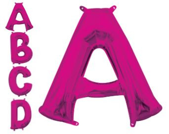 Letters A - Z Pink (Does Not Float)