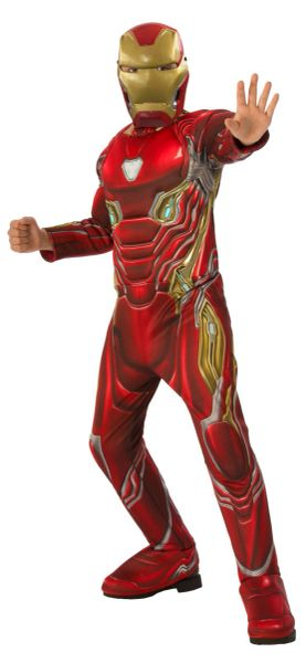 Iron Man Infinity War Costume Small (3-4)