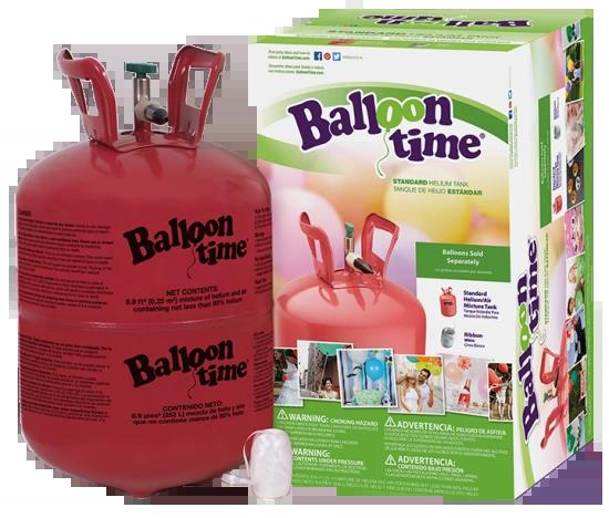 "Balloon Time Helium Kit, 15 - 12"" Balloons"