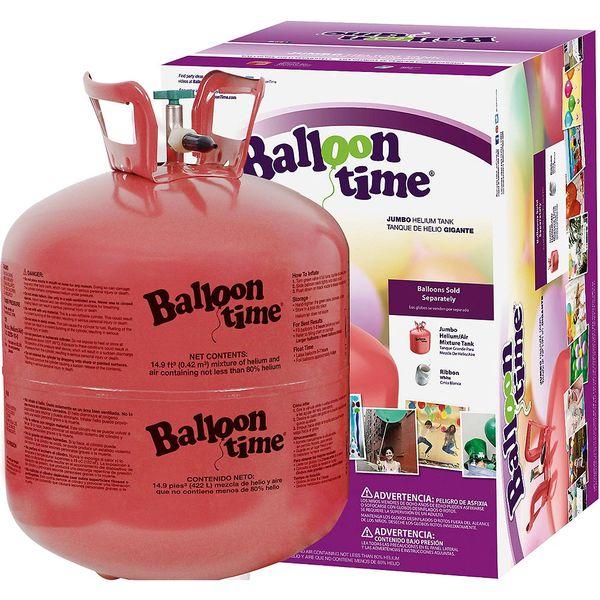 "Balloon Time Helium Kit, 25 - 12"" Balloons"