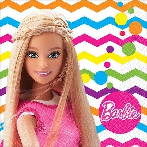 Barbie Sparkle Beverage Napkin