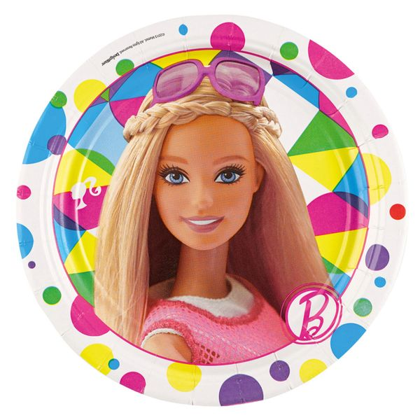 Barbie Sparkle 7in Plate