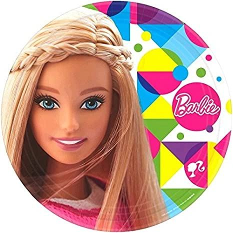 Barbie Sparkle 9in Plate